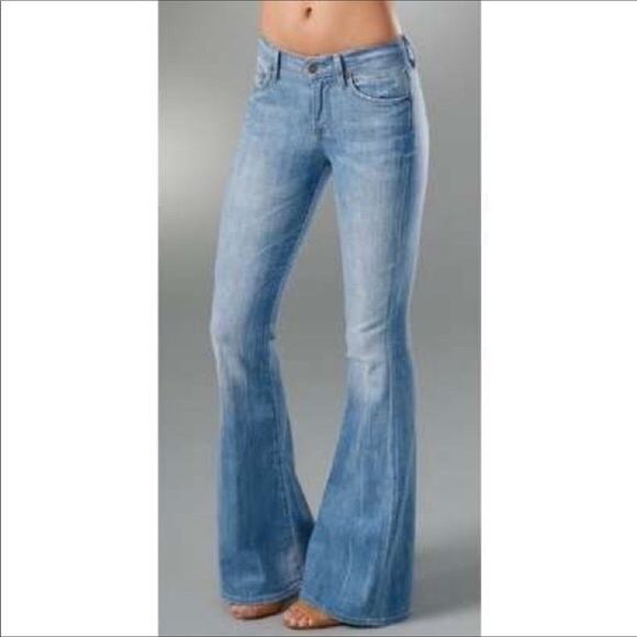 order online 2019 clearance sale attractive price Citizens of Humanity Crystal Bell Bottom👖size 29